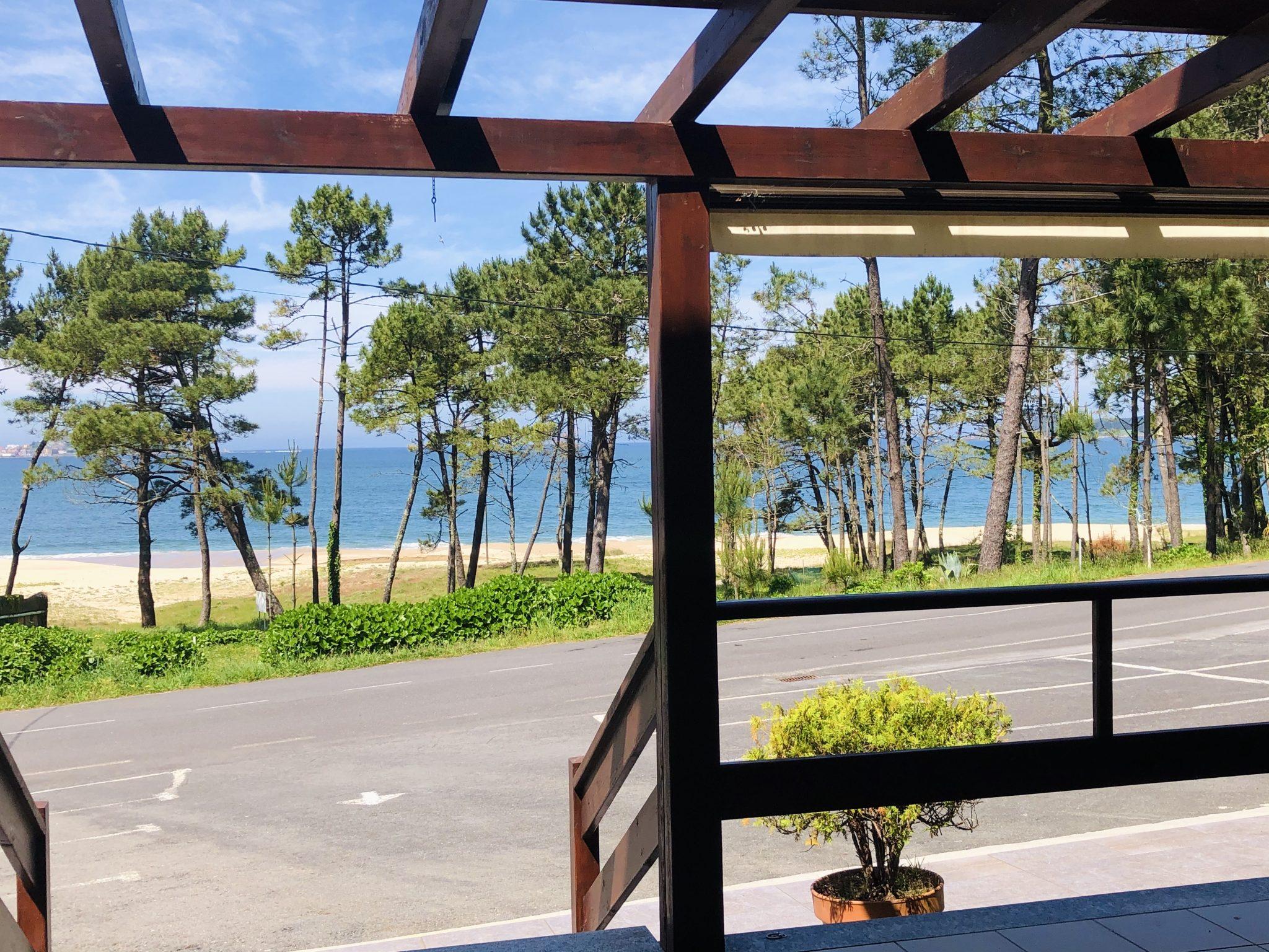 Terraza Cafetería Playa de Lago